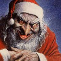Väittävät, että Joulupukki puree ja lyö