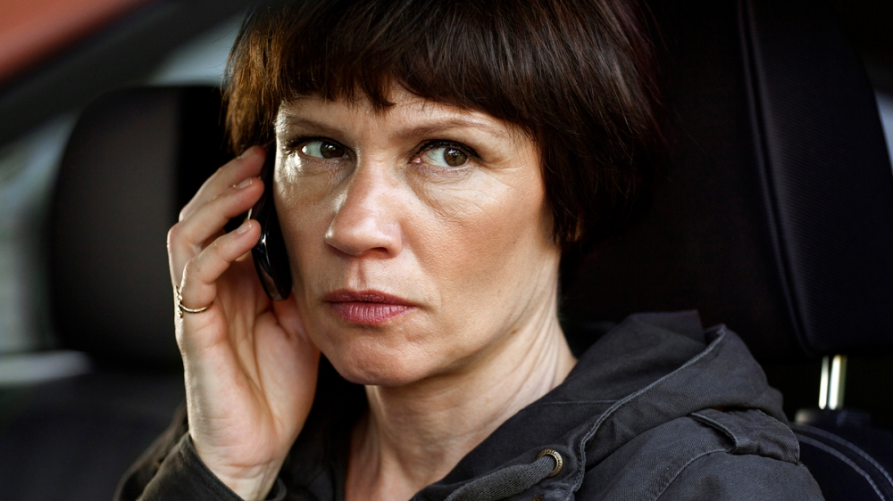 Mari Rantasila elokuvassa Juokse henkesi edestä.
